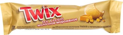 Мороженое батончик Твикс 40 гр