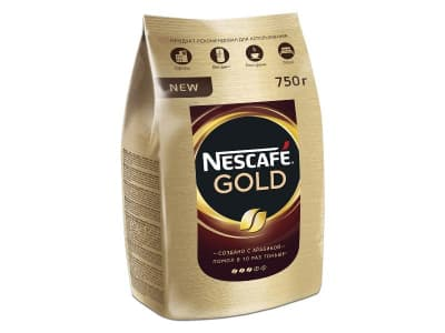 Кофе Нескафе Голд 900гр.