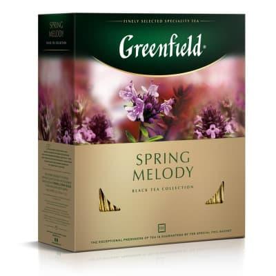 Чай Spring Melody (черный с чабрецом) 100пак.