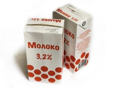 Молоко 3,2% 1,0л (Серково)