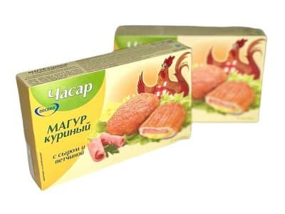 Магур куриный с сыром и ветчиной, 390 гр