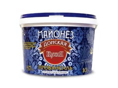 Майонез 67% 10кг Донская Кухня
