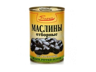 "Маслины без косточки ""БАРКО"" 280гр"