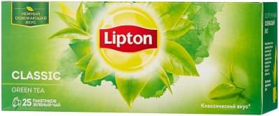 Чай Зеленый 25 пак Липтон