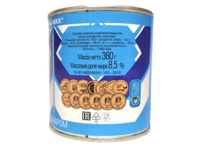 Молоко сгущенное с сахаром 8,5% ГОСТ Рогачев 380гр