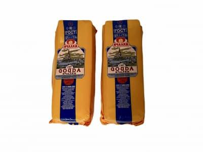Сыр Гауда Ичалки 45% головка 3-4 кг