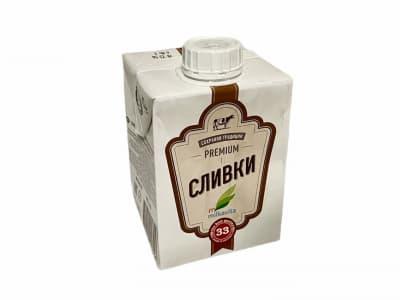 Сливки Милкавита 33 % 500 гр