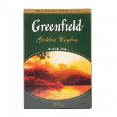 Чай Golden Ceylon (цейлонский) Гринфилд 200гр