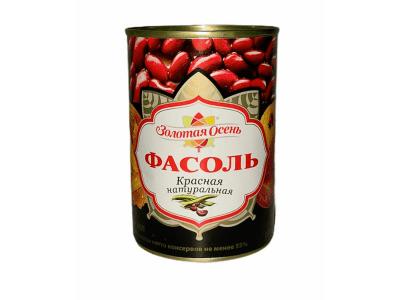 """Фасоль красная в собственном соку """"Золотая осень"""" 400гр"""