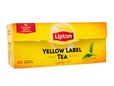 Чай Черный 25 пак Липтон