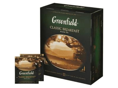 Чай Classic Breakfast (индийский) Гринфилд 100 пак.