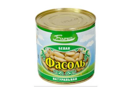 """Фасоль белая в собственном соку """"Барко"""" ж/б 400гр"""