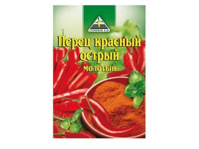 """Приправа """"CYKORIA"""" перец красный острый 20гр"""