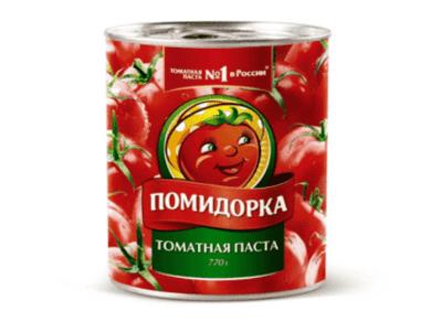 """Томатная паста ж/б """"Помидорка"""" 770гр"""