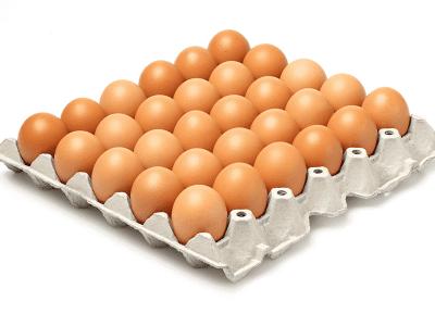 Яйцо куриное 1 сорт 30 шт.